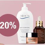 Galeria Kaufhof mit 20% Rabatt auf Gesichts- u. Körperpflegeprodukte