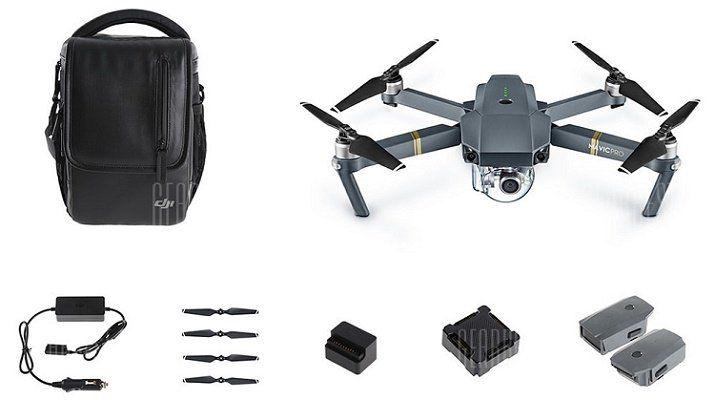 DJI Mavic Pro 4K Drohne   Fly More Combo inkl. 3 Akkus für 1016,09€ (statt 1.312€)