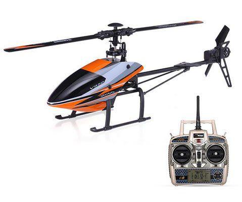 WLtoys V950   RC Helikopter mit 3D & 6G Modus für ~91,75€