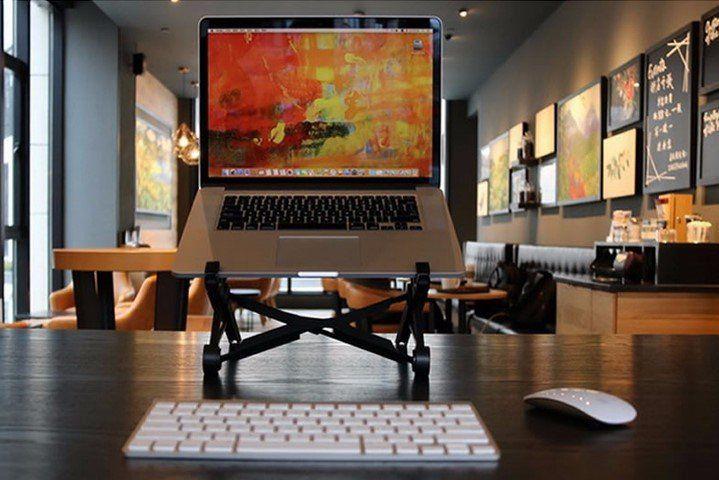 Nexstand   Laptopständer für Unterwegs & Reisen für 17,45€