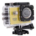 SJCAM SJ4000 – Actioncam (1080P, 170° HD Weitwinkel-Fischauge) in Gelb oder Schwarz inkl. Zubehör für ~31,42€ (statt 73€)