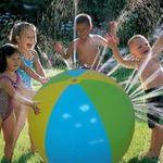 Aufblasbarer Sprinkler-Wasserball für 11,62€