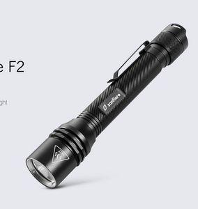Pricedrop! zanflare F2 LED Taschenlampe mit 4 Modi für 5,46€