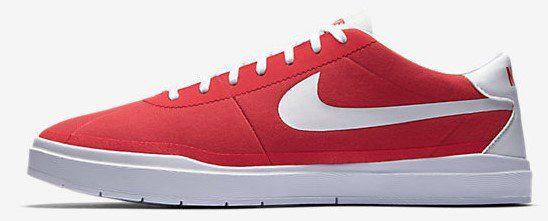 Nike SB Bruin Hyperfeel Canvas in rot für 44,97€ (statt 63€)