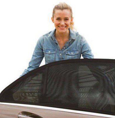 2x Stretchbarer Sonnenschutz für die Autotür für 3,60€