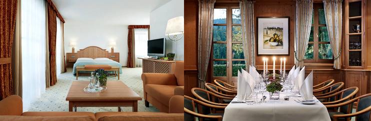2, 3 o. 5 ÜN im 4* Hotel am Tegernsee inkl. Frühstück, Dinner, Sauna, Pool & Golf Trainingsbereich ab 156€ p.P.