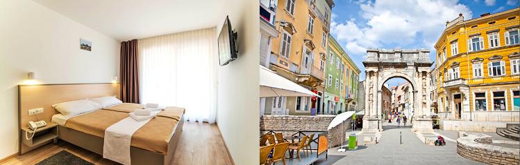 3, 4 o. 7 ÜN im 3* Hotel an der kroatischen Adria inkl. Halbpension, Nutzung von Tennis  und Fussballplätzen ab 89€ p. P.