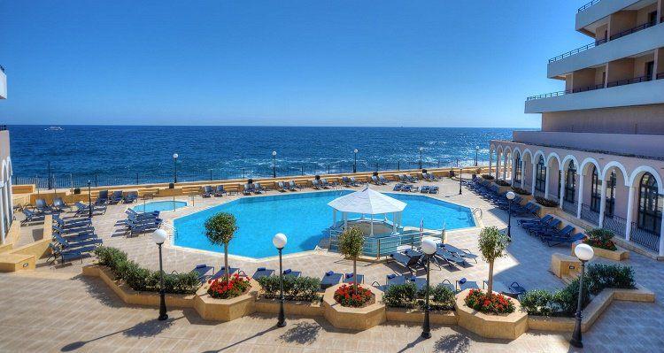 4, 7 o. 10 ÜN im 5* Hotel auf Malta inkl. Flüge, Frühstück, Halbpension oder Vollpension, Sauna, Fitness und Transfer ab 299€ p.P.