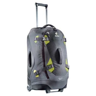 Travel Trolley Helion 80 Black Moss für 153,99€ (statt 181€)