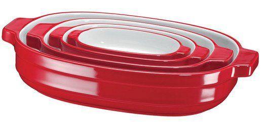KitchenAid (KBLR04NSER) Stapelbare Keramik Auflaufformen für 58,90€ (statt 69€)
