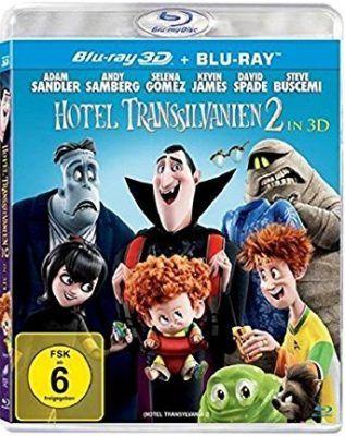Vorbei! Hotel Transsilvanien 2 (3D  + 2D Blu Ray) für 7,34€ (statt 13€)