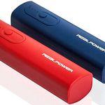 RealPower PB-T1 Doppelpack – 2er-Set Powerbank für 7,99€ (statt 12€)