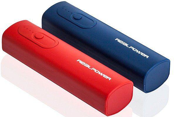 RealPower PB T1 Doppelpack   2er Set Powerbank für 7,99€ (statt 12€)
