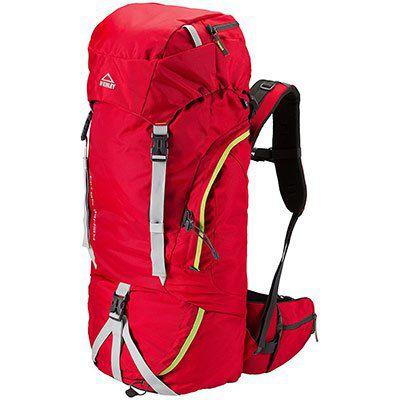 NUR 3 STÜCK! McKinley Kenai Wanderrucksack mit 55+10L Volumen, Höhenverstellbare Deckeltasche & RV Frontöffnung für 52€ (statt 70€)