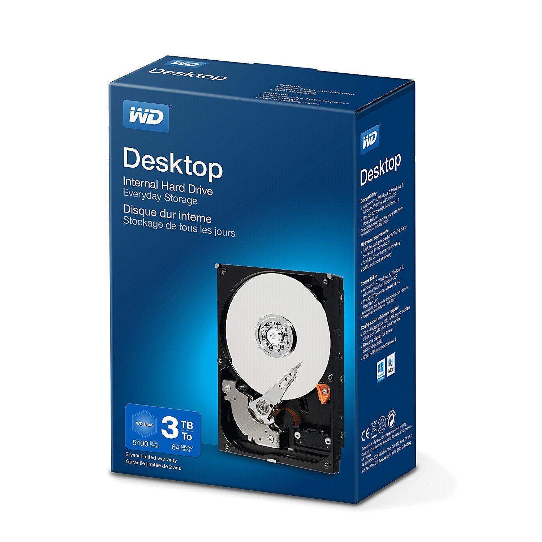 WD Blue mit 2TB für 62€ oder mit 3TB für 81€