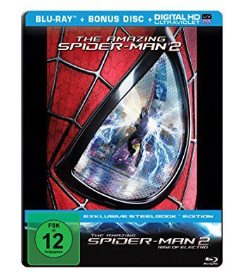The Amazing Spider Man: Rise of Electro (Blu Ray) im Steelbook für 5,99€