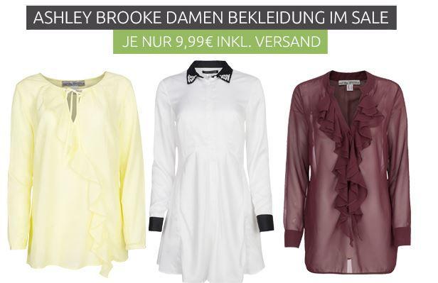 Ashley Brooke Damen Blusen für je nur 9,99€