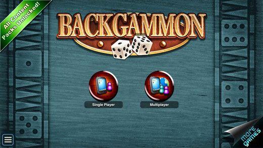 Backgammon HD (iOS) gratis statt 4,49€
