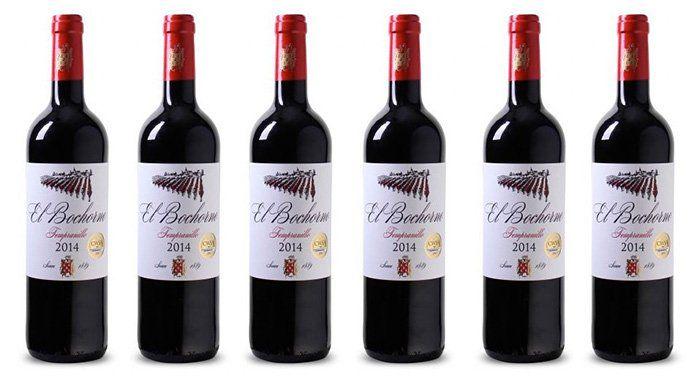 6 Flaschen El Bochorno Rioja Tempranillo Rotwein für 23,94€ (statt 39€)
