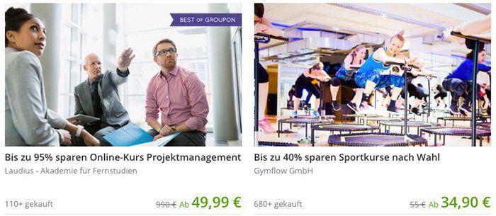 10€ Groupon Neukunden Gutschein ab 30€