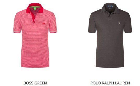 Poloshirt Sale bei Hirmer mit vielen Marken Shirts + 10€ Gutschein   z.B. Napapijri Elbas ab 45€ (statt 54€)