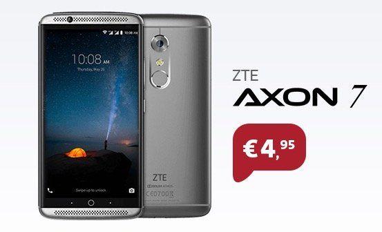 ZTE Axon 7 für 9,95€ + o2 Allnet Flat mit 4GB LTE für 24,99€ mtl.