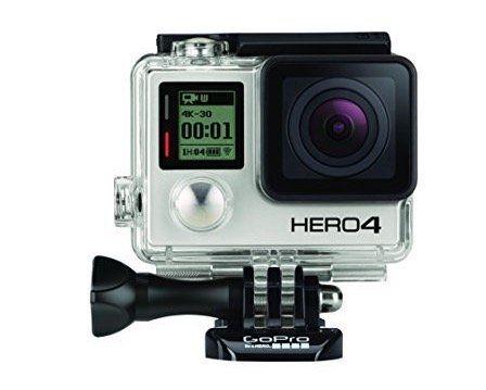 GoPro Hero 4 Black Edition Actioncam für 240,97€ (statt 365€)   genau lesen!