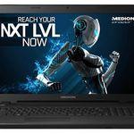 Medion Erazer P7643 – 17,3 Zoll Gaming-Notebook mit 256GB SSD + 1TB + Win 10 für 719€ (statt 904€)