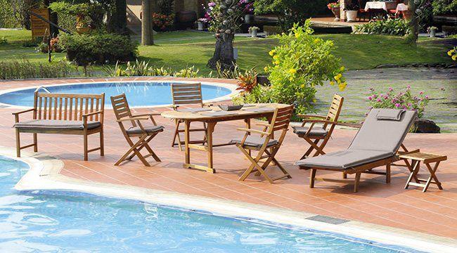 Großes ambia Gartenmöbel Set für 499€