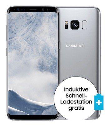 Knaller! o2 Free mit 15GB LTE für 34,99€ mtl. + Galaxy S8 nur 4,95€ + gratis Ladestation + 6 Monate Sky Ticket gratis