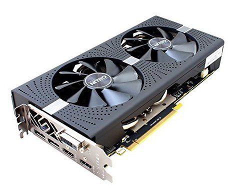 Ausverkauft! Sapphire Radeon RX 580 Nitro+ Grafikkarte für 262€ (statt 374€)