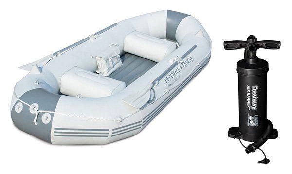 Bestway Hydro Force Marine Pro Schlauchboot + Pumpe für 78,96€ (statt 99€)