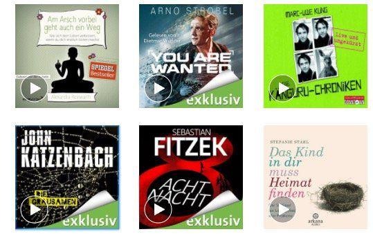 1 Jahr Audible Hörbücher für nur 59,40€ (statt 119,40€)   nur Prime Mitglieder!