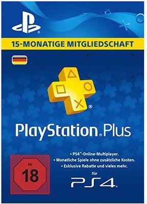 Playstation Plus 15 Monate nur 34,99€