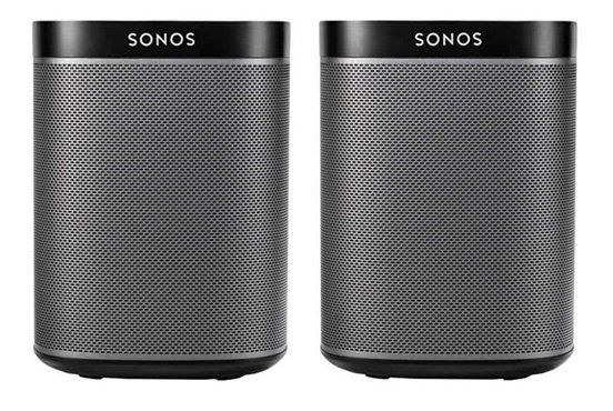 2er Set Sonos Play:1 Lautsprecher für 375,90€ (statt 416€)