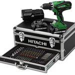 Hitachi DS18DJL 18V Akku-Bohrschrauber + 2 x 1,5Ah + Koffer + 54-tlg. Zubehör nur 120,69€ (statt 149€)