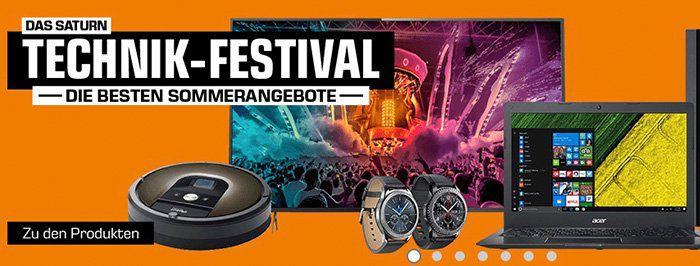 Saturn Technik Festival   z.B. Samsung S3 Gear Frontier für 239€ (statt 329€)