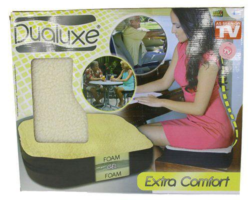 Dualuxe Fleece Gel Sitzkissen für 9,99€ (statt 14€)