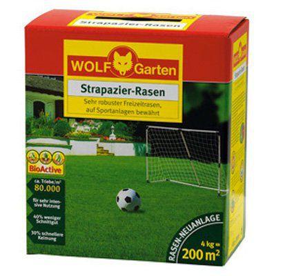4kg Wolf Garten LJ 200 Strapazier Rasen für 34,90€ (statt 45€)