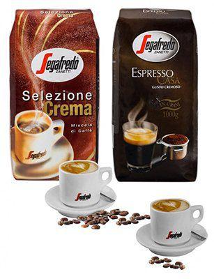 Segafredo Probierpaket mit 2kg Bohnen und 2 Segafredo Tassen für 29,99€