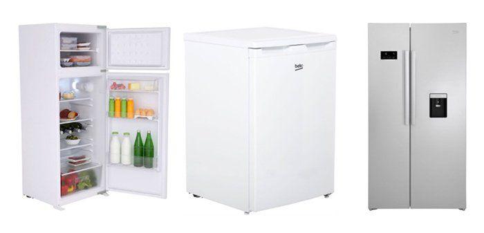 Beko Kühlgeräte mit bis zu 100€ Rabatt   z.B. Side by Side Kühlkombi nur 644€ (statt 724€)