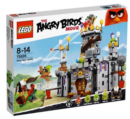 LEGO Angry Birds   King Pigs Castle (75826) für 48,94€ (statt 79€)
