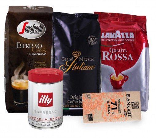 Geschenkpaket Kaffeebohnen (3,25 kg) für 45,54€ inkl. VSK