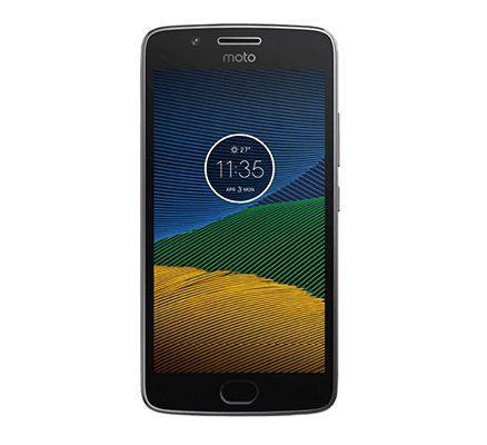 Motorola Moto G5   5 Zoll Full HD Smartphone mit Android 7 für 129€ (statt 163€)