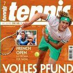 10 Ausgaben vom tennis Magazin für 62€ inkl. 55€ Amazon Gutschein