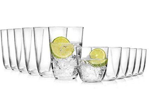 12 teiliges Gläser Set Fresh für 11,99€