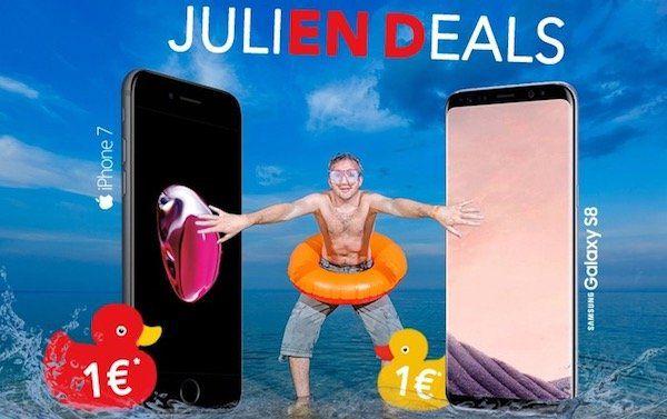 Samsung Galaxy S8 für 1€ + gratis Ladestation + Vodafone Young L Tarif mit 6GB LTE für 34,99€ mtl.