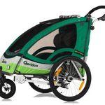 Qeridoo Sportrex2 Kinderfahrradanhänger für 281€ (statt 311€)