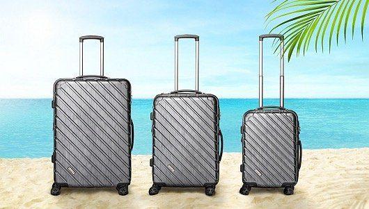 Packenger Sale bei vente privee   z.B. 3er Set Hartschalenkoffer Vertical für 180€ (statt 298€)