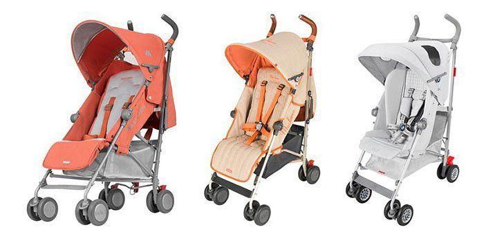 Maclaren Kinder Buggys und Accessoires   z.B. Buggy Mark II Spicy Orange ab 119,90€ (statt 149€)